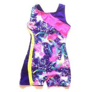 Freestyle toddler girl sleeveless leotards